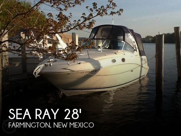 Used Boats For Sale in New Mexico by owner | 2007 Sea Ray 28