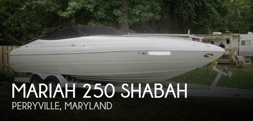 Used Mariah Boats For Sale by owner | 2001 Mariah 250 Shabah