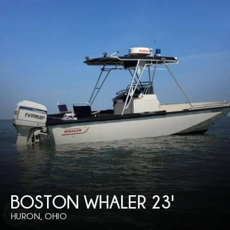 Used Boston Whaler Boats For Sale in Ohio by owner | 1980 23 foot Boston Whaler Outrage