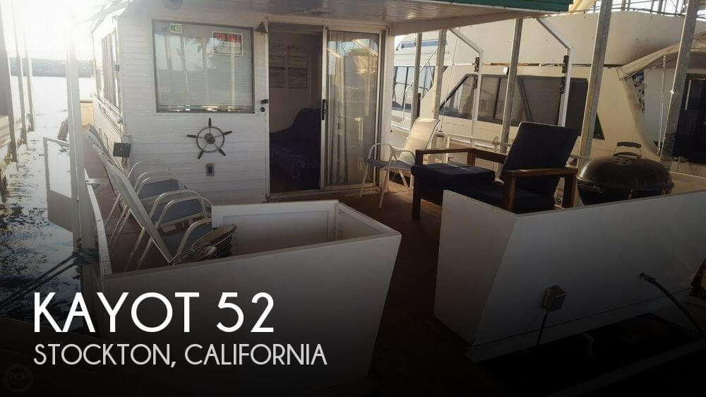 Used Houseboats For Sale in Sacramento, California by owner | 1972 Kayot 52