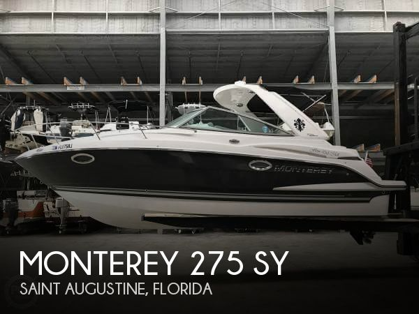 Used Power boats For Sale in Jacksonville, Florida by owner | 2017 Monterey 275 SY