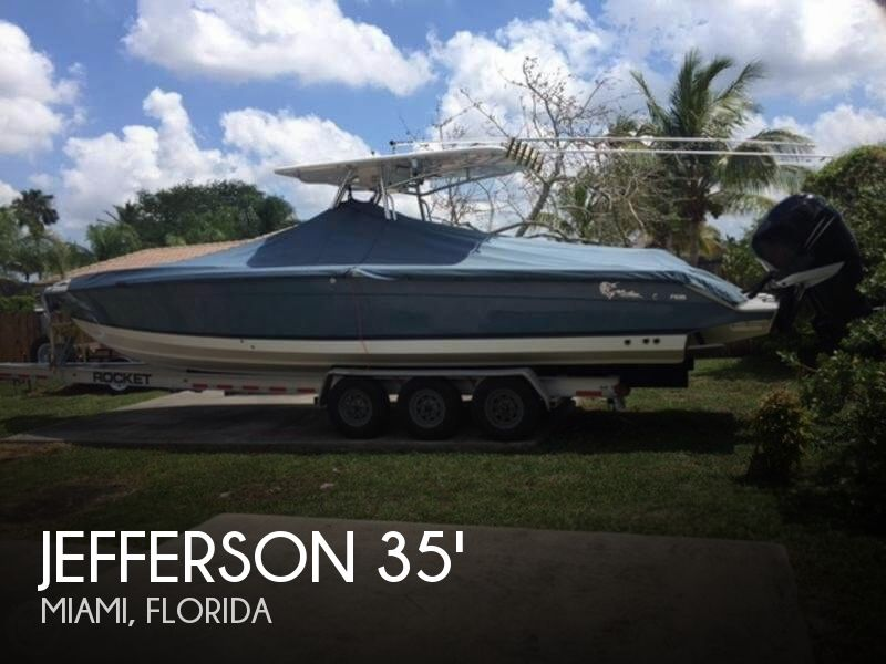 Used Jefferson Boats For Sale by owner | 2007 Jefferson 35