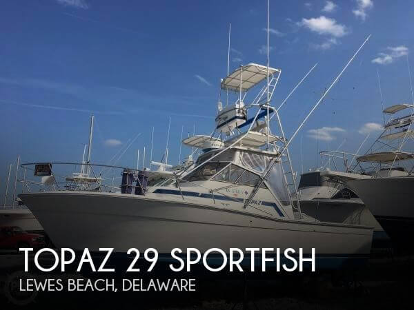 Used Boats For Sale in Delaware by owner | 1985 Topaz 29