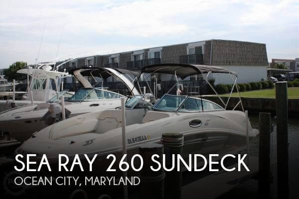 Used Deck Boats For Sale by owner | 2008 Sea Ray 26