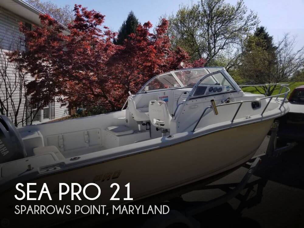 Used Ski Boats For Sale in Maryland by owner | 2003 Sea Pro 21