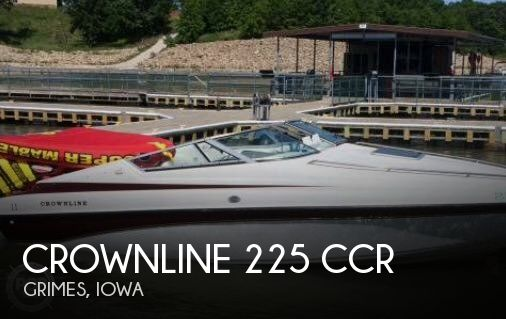 Used Power boats For Sale in Iowa by owner | 1998 Crownline 22