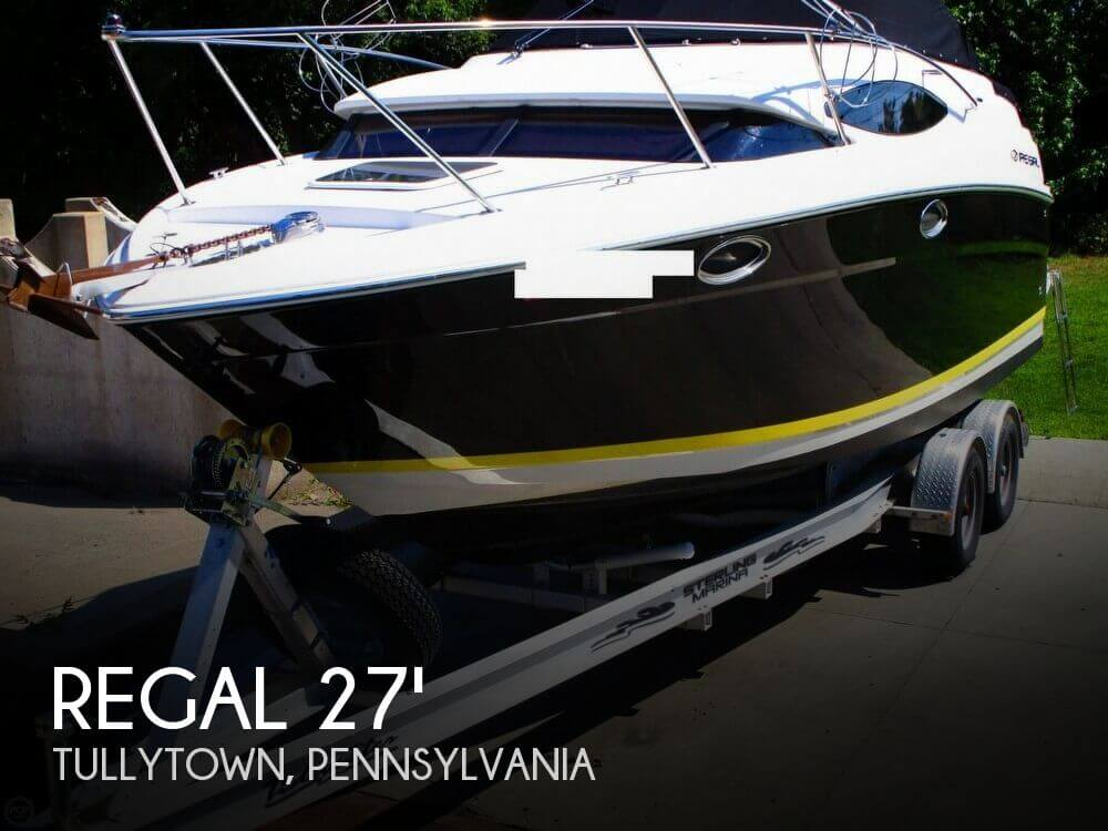 Used Boats For Sale in Reading, Pennsylvania by owner | 2008 Regal 27
