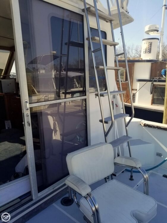 1988 Cape Dory boat for sale, model of the boat is Offshore 36 Flybridge Cruiser & Image # 3 of 40