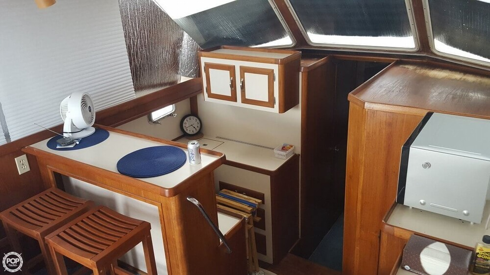 1988 Cape Dory boat for sale, model of the boat is Offshore 36 Flybridge Cruiser & Image # 5 of 40