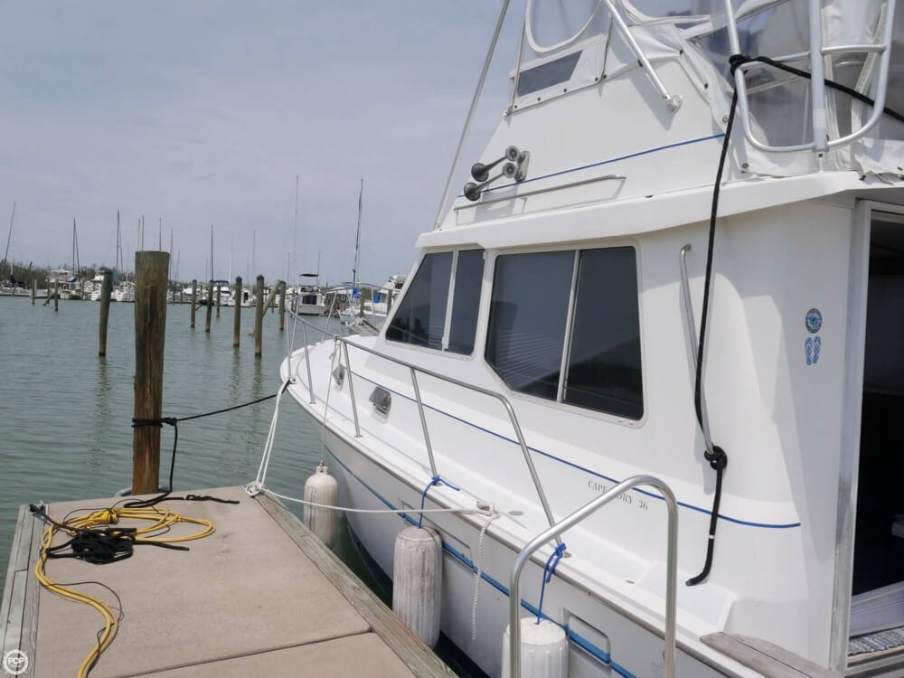 1988 Cape Dory boat for sale, model of the boat is Offshore 36 Flybridge Cruiser & Image # 11 of 40