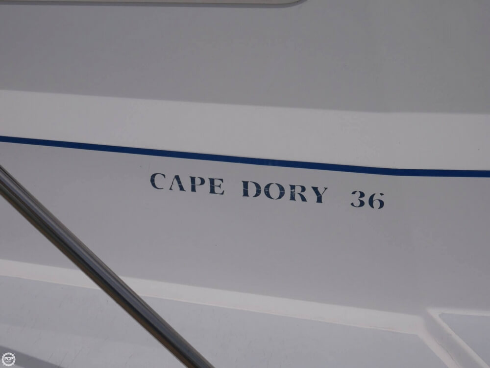 1988 Cape Dory boat for sale, model of the boat is Offshore 36 Flybridge Cruiser & Image # 21 of 40