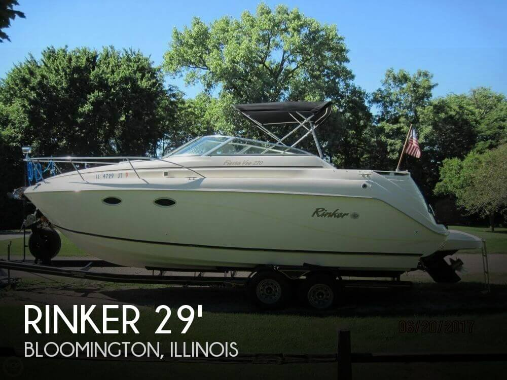 Used Boats For Sale in Peoria, Illinois by owner | 2001 Rinker 29