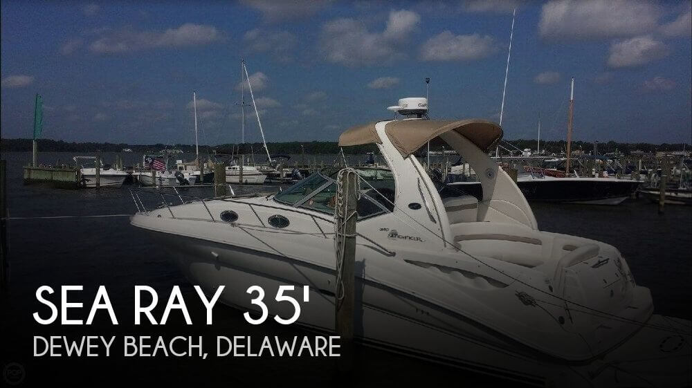 Used Boats For Sale in Delaware by owner | 2004 Sea Ray 35