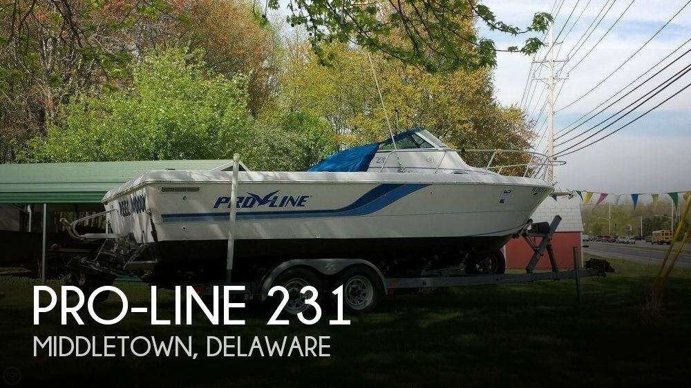 1994 Pro-Line boat for sale, model of the boat is 231 & Image # 1 of 40