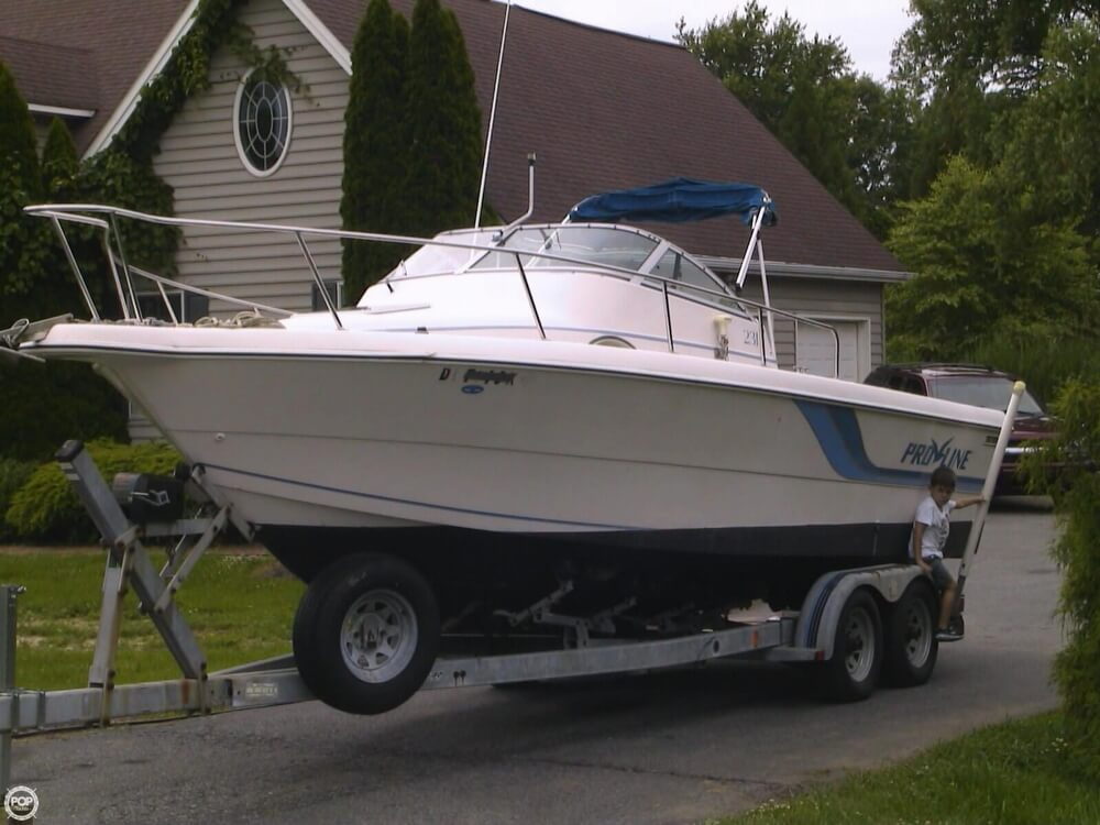 1994 Pro-Line boat for sale, model of the boat is 231 & Image # 8 of 40