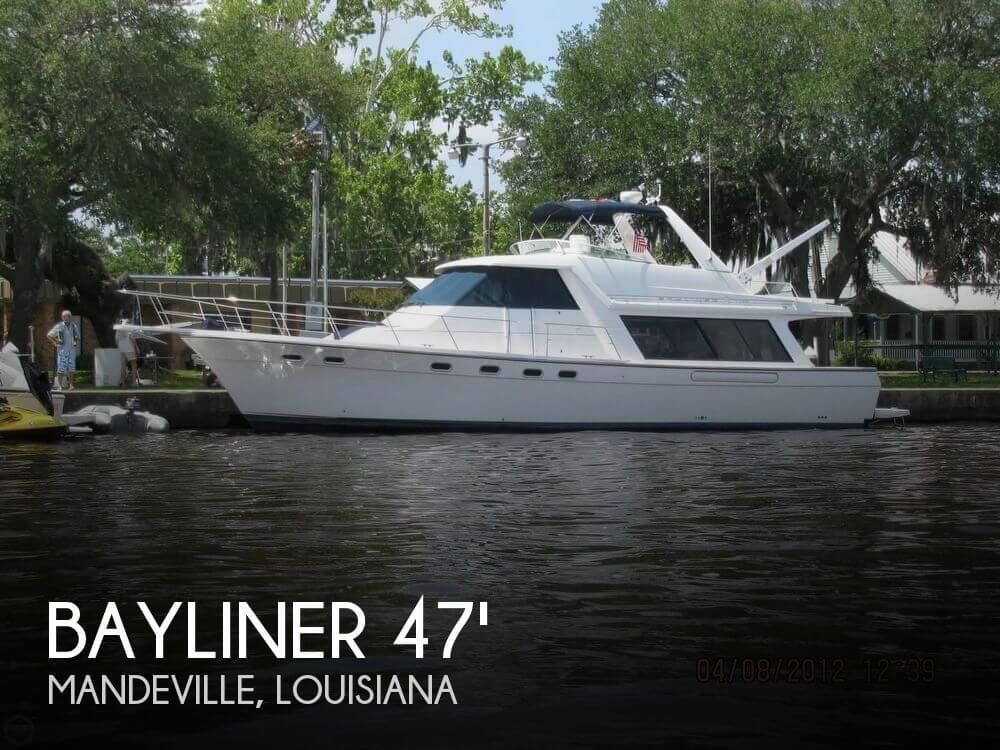 Used Boats For Sale in Gulfport, Mississippi by owner | 2000 Bayliner 4788