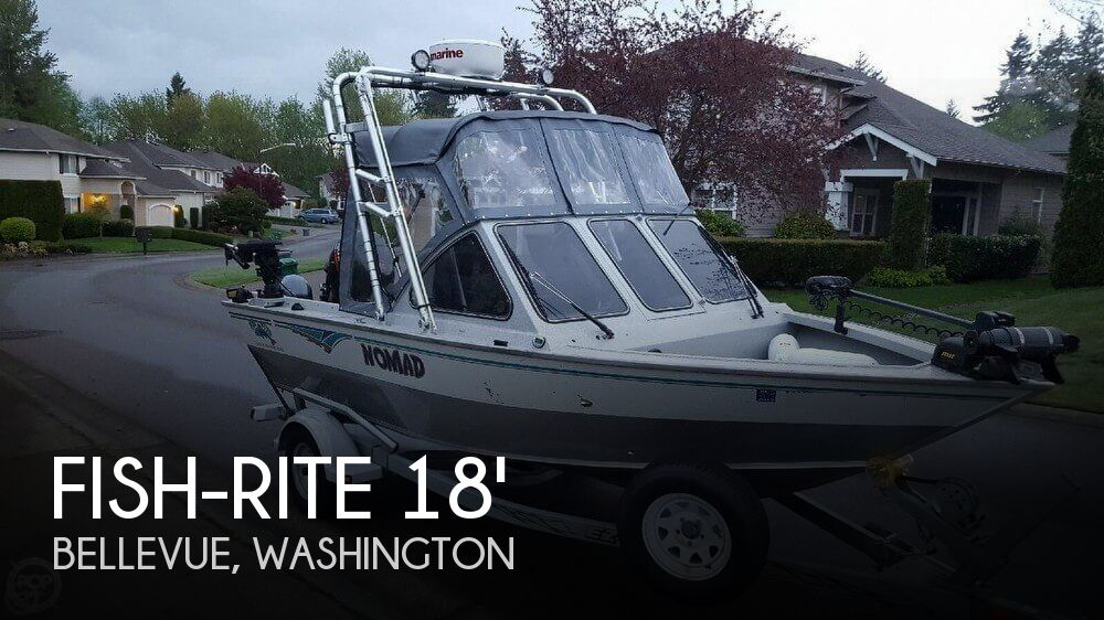 Aluminum Fishing Boats For Sale >> Fish Rite 18 Performer Boat For Sale In Bellevue Wa For 24 999