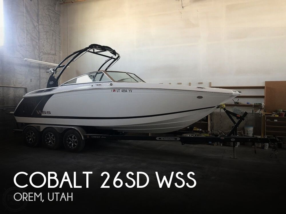 Used Boats For Sale in Salt Lake City, Utah by owner | 2015 Cobalt 26