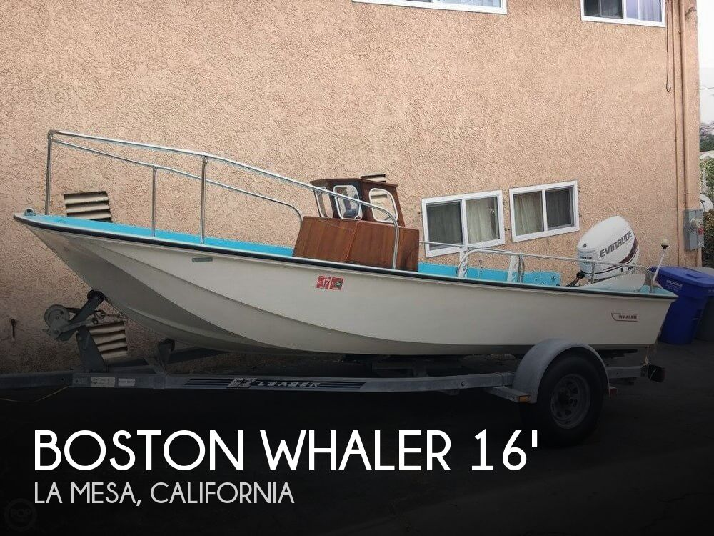 Used Boston Whaler Boats For Sale in San Diego, California by owner | 1972 Boston Whaler 16