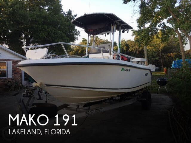 Used MAKO Boats For Sale in Florida by owner | 2008 Mako 19