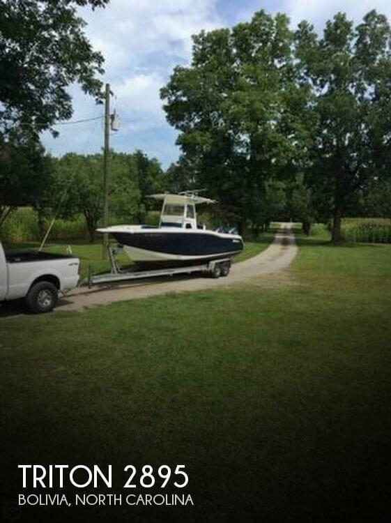 Used Triton  Boats For Sale by owner | 2003 Triton 29