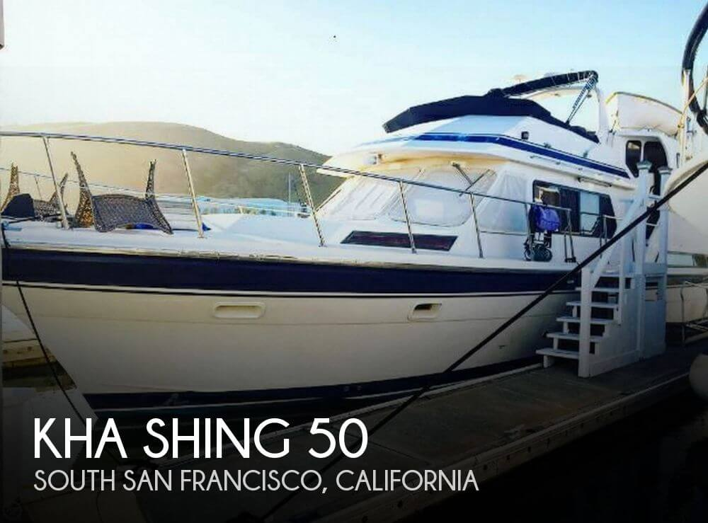 Used Fishing boats For Sale in Santa Rosa, California by owner | 1989 Kha Shing 50