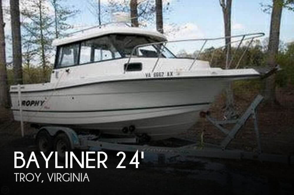 Used Boats For Sale in Lynchburg, Virginia by owner | 2002 Bayliner 24