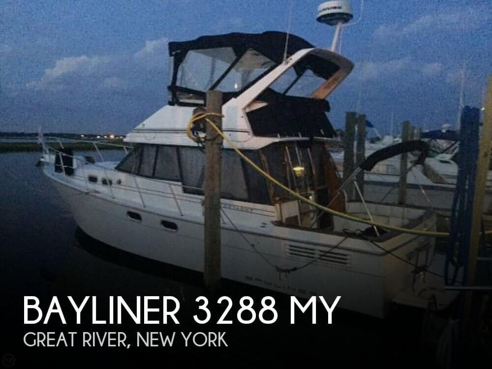 Used Bayliner Boats For Sale in New York by owner | 1993 Bayliner 32
