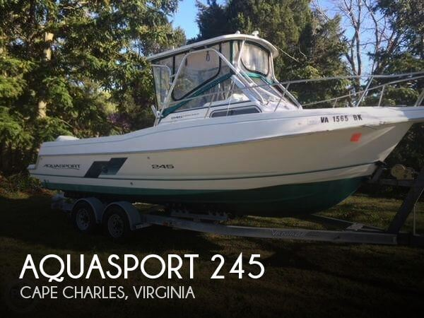 Used Boats For Sale by owner | 1994 Aquasport 26