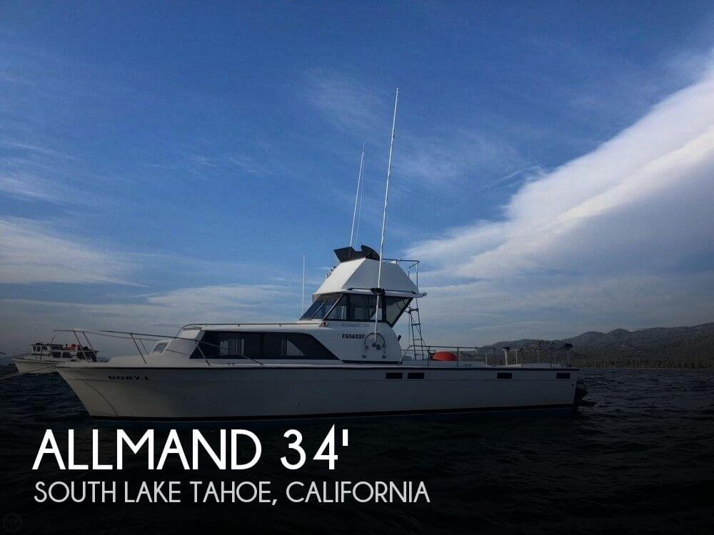 Used Allmand Boats For Sale by owner | 1981 Allmand 34