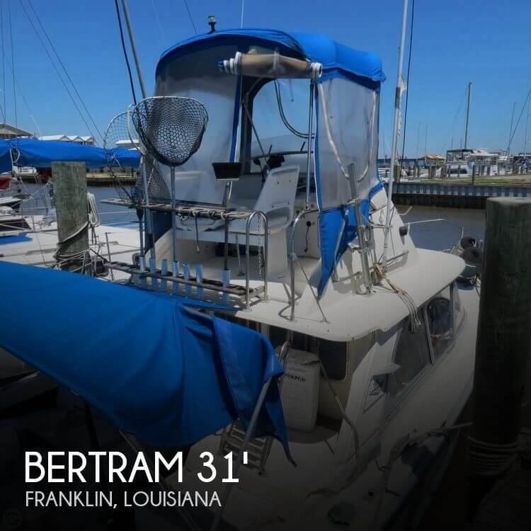 Used Boats For Sale in Lafayette, Louisiana by owner | 1965 Bertram 31