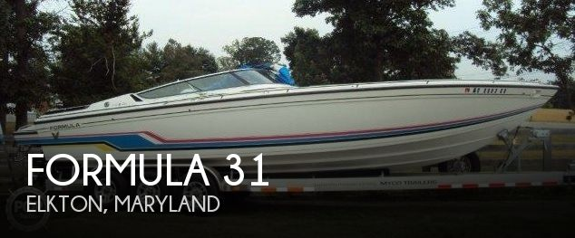 Used High Performance Boats For Sale in Maryland by owner | 1991 Formula 31