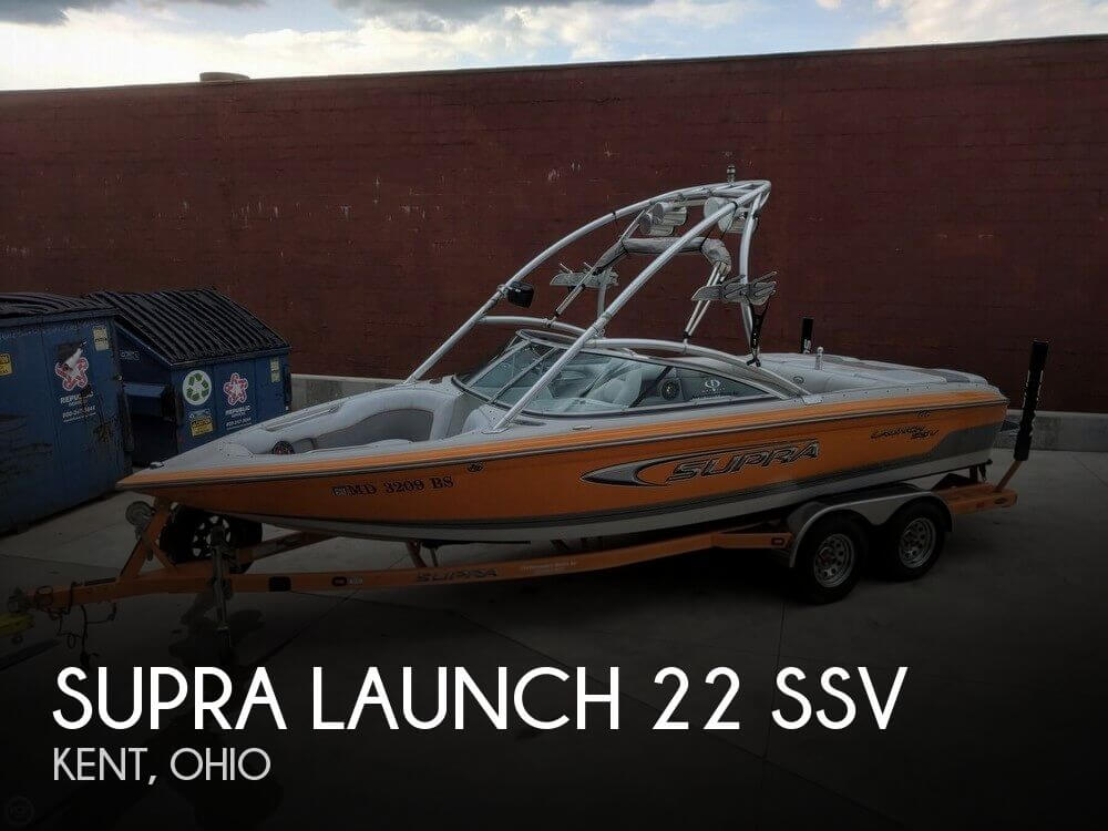 Used Ski Boats For Sale in Ohio by owner | 2005 Supra 22