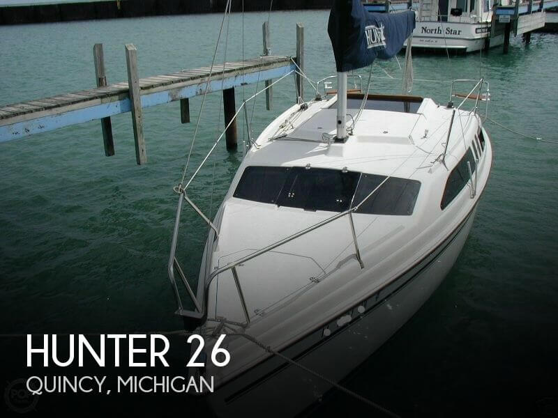 Used Hunter Sailboats For Sale in Michigan by owner | 1995 Hunter 26