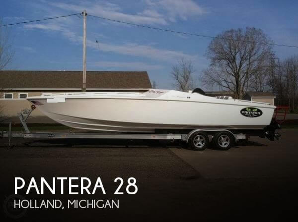 Used Boats For Sale in Grand Rapids, Michigan by owner | 1994 Pantera 28
