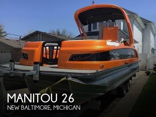 Used Pontoon Boats For Sale by owner | 2016 Manitou 26