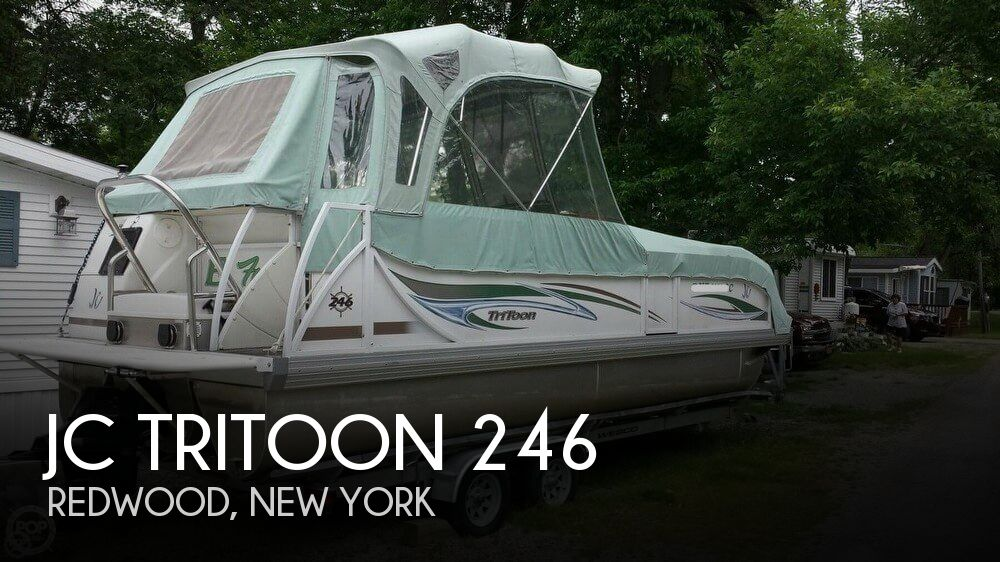 Used JC Boats For Sale by owner | 2006 JC Tritoon 246