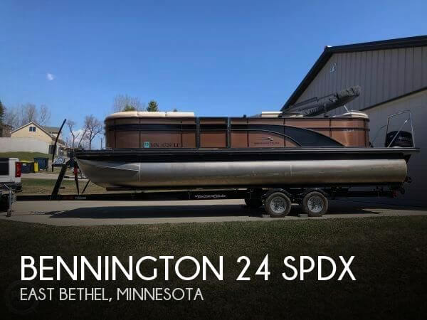 Used Pontoon Boats For Sale by owner | 2018 Bennington 24