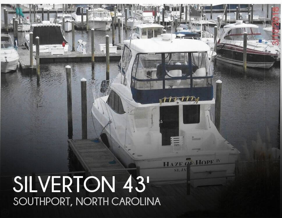 Used Boats For Sale in North Carolina by owner | 2005 Silverton 38 Convertible with Sportpac
