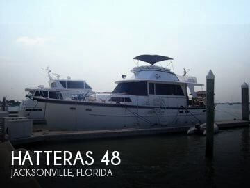 Used Fishing boats For Sale in Florida by owner | 1966 Hatteras 48