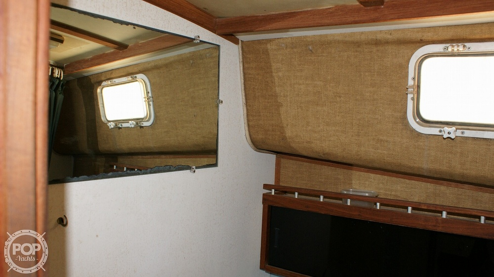 1979 Mainship boat for sale, model of the boat is 34 Diesel Cruiser & Image # 34 of 40