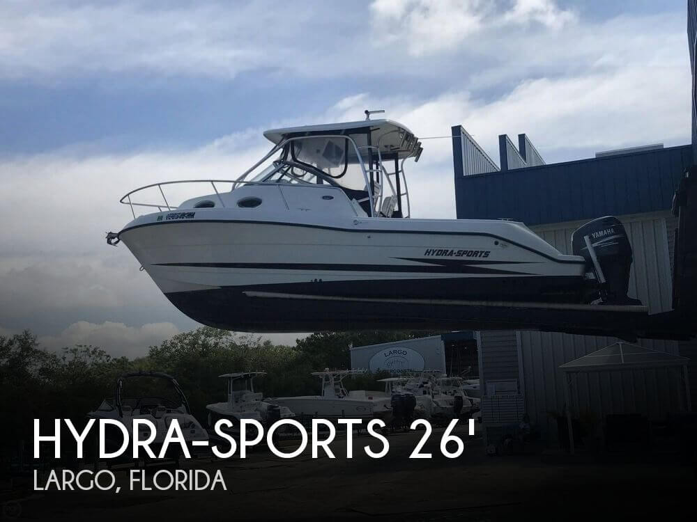 Used Hydra-Sports Boats For Sale by owner | 2002 Hydra-Sports 2600 Vector