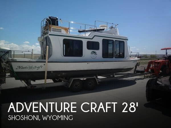 Used Boats For Sale in Wyoming by owner | 2002 Adventure Craft 28