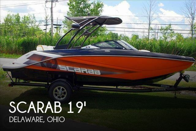 Used Boats For Sale in Columbus, Ohio by owner | 2016 Scarab 19