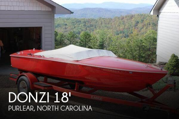 Used Boats For Sale in Johnson City, Tennessee by owner | 1988 Donzi 18