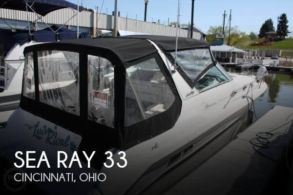 Used Boats For Sale in Cincinnati, Ohio by owner | 1994 Sea Ray 33