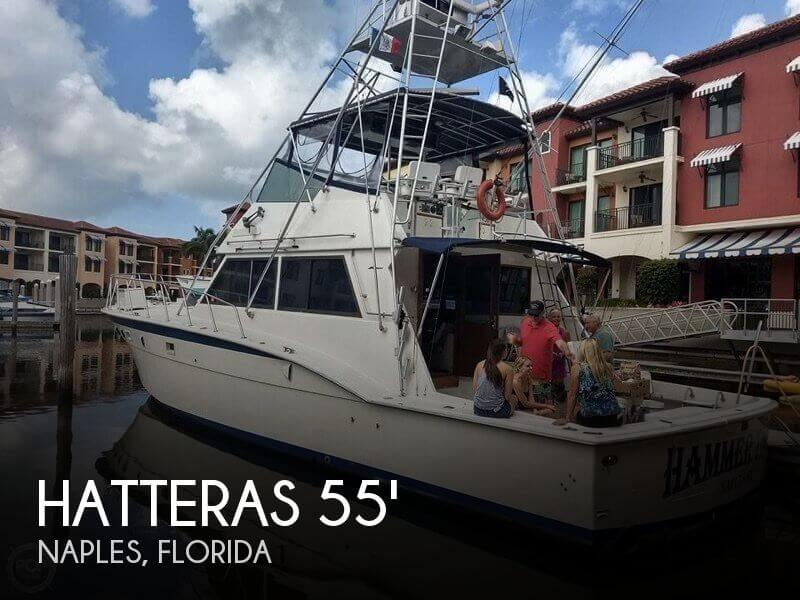 Used Fishing boats For Sale in Florida by owner | 1981 Hatteras 55