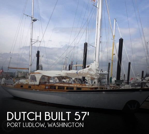 Used Boats For Sale in Washington by owner | 1962 Dutch Built 57
