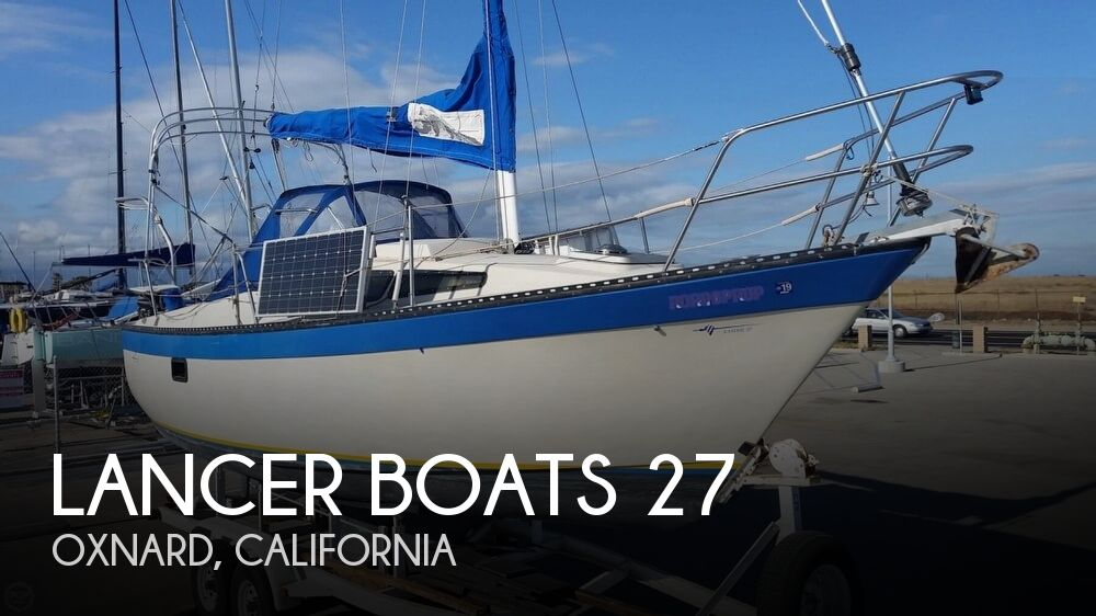 1985 Lancer Boats boat for sale, model of the boat is 27 & Image # 1 of 40