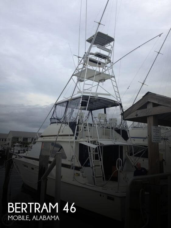 Used Boats For Sale in Gulfport, Mississippi by owner | 1974 Bertram 46